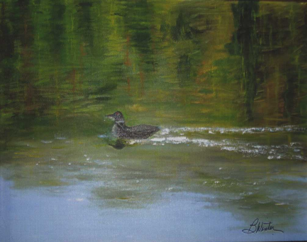 """""""The Loon"""" by Bob Winter"""