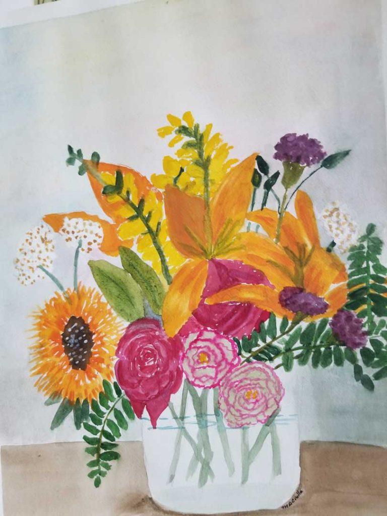"""Glorious Flowers"" by Mary Ann Ciulla"