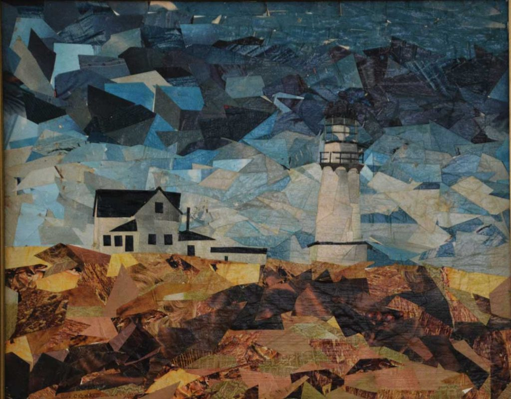 """Two Lights, Cape Elizabeth, Maine"" by Bev Cronkite"